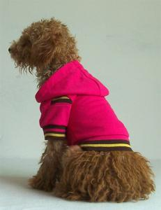 China red color dog clothes hoodies pet products on sale
