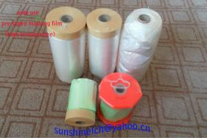 China PMF&PMP  pretaped masking film and paper on sale