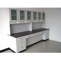 Acid Resistant Wooden Chemistry Lab Furniture C Frame With Drawer