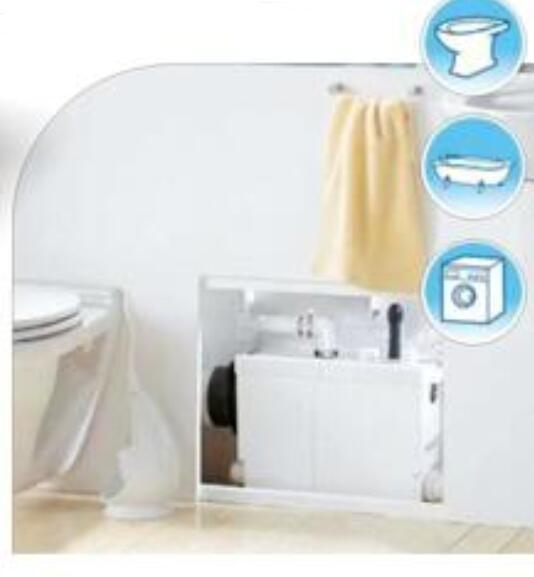 600W Jabsco Macerator Pump Toilet Water Pump Electrical 240V Images