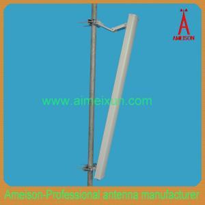 China 65 grados de 3.5GHz 15dBi se doblan antena direccional polarizada del panel de la antena de Wimax on sale
