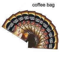 China Plástico impreso de empaquetado de Mylar de las bolsas del café reciclable pequeño on sale