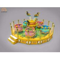 China crazy dance ride Amusement Rotating  new design Coffee Tea Cup Game for Sale on sale