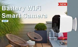 China Wireless Wifi Security Camera Battery Powered HD 960P Resolution Support Night Vision on sale