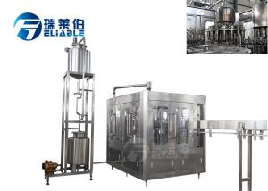 China Reliable CE Beverage Filling Machine , Liquid Bottle Filler PLC + Touch Screen on sale