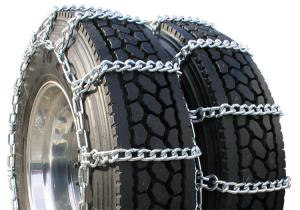China Mud Service Dual Anti Skid Chains Truck Tire Chains For Light Trucks / Commercial Trucks on sale