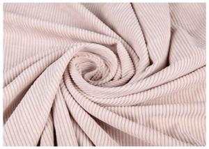 China Plain 100% Cotton Fine Wale Corduroy Fabric For Male Dress 16*16 Yran Count on sale
