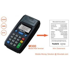 China Movotek Mobile Recharge POS with USSD/SMS Thermal Voucher Printer for Airtime Topup on sale