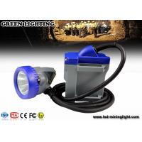 China 1.67W LED light msha approved cap lamps, 650mA lighting current IP68 headlamp on sale