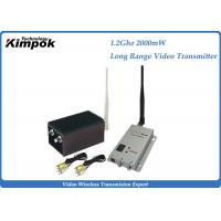Light Weight  Analog Video Transmitter And Receiver PAL / NTSC System