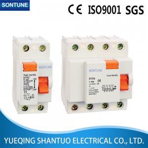 China 4 Pole Residual Current Circuit Breaker RCCB , 6KA Smart Circuit Breaker on sale