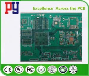 China 10 Layer PCB Printed Circuit Board Bga Fr4 Material 0.08mm MIN Solder Mask Bridge on sale