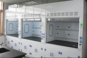 China 1500-3000 M3/H Laboratory Fume Hood For Inspection And Testing Center on sale