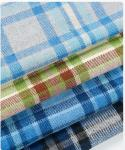 Woolen plaid woolen fabric woolen coat women's coat woolen chemical fiber double-sided fabric manufacturers supply whole