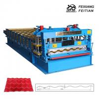 China Steel Plate Glazed Roof Tile Making Machine/Steel Roof Roll Forming Mahine on sale