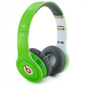 China Lightweight Wireless Monster Beats By Dr.Dre Studio Headphones Green on sale