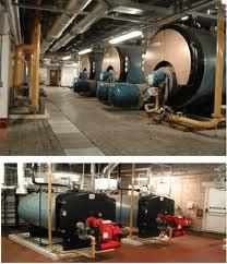 China Natural circulation Start rapidly multiple chain protection gas oil Dual Fuel Boilers on sale