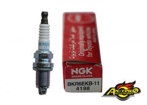 China 4198 BKR6EKB-11 Iridium NGK Spark Plugs , Automobile Spark Plugs For Japanese Car on sale