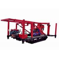 Strong Capacity Crawler  Intensity Geological Drilling Rig With Low Labor