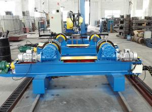 China Bolt Adjustment Rotation Pipe Welding Turning Rolls for Nonferrous Metals Pipe on sale