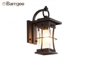 China Square Round Vintage Nordic Wall Sconce E27 Bedroom Living Rom Corridor on sale