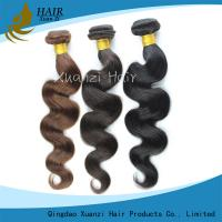 Natural Remy Clip In Hair Extensions 100G , Body Wave Virgin Indian Remy Hair