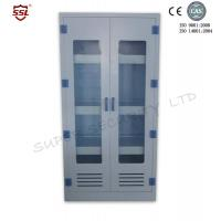 China 250Liter Chemical Medical Storage Cabinet Units with 3 Adjustable Shelves PPM509045 on sale