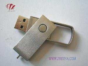 China 1GB -32GB Stainless Steel Swivel USB Flash Drive (JA-4101) on sale