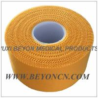Zig - zag Yellow Color Breathable Athletic Sports Tape For Trainer Protection