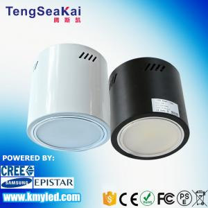 China High lumen SMD type 6 inch 50W surface mounted led downlight AC100V-277V for hotel hall lighting 3 years guarantee on sale
