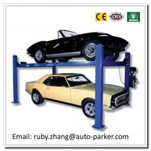 China Four Post Narrow Garage Parking Equipment Smart Car Parking System Automatic Car Lift on sale