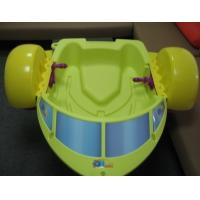 2014 Yellow Plastic Paddler Boat / Aqua Boat for Kids Inflatable Pool