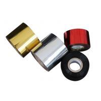 Gold Silver Aluminum Hot Stamping Foil For Plastic Bottle Cap Tube