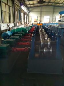 China American Standards Two Waves Expressway Guardrails Fences Roll Forming Machine with Hydraulic Punching and Cutting on sale