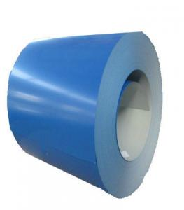 China Bright Finish Colour Coated Galvanized Sheets , Galvanized Sheet Metal Roofing QY-01 on sale