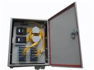 China 1.5mm stamping Fiber Optic modem jumpers splitter connection Termination Box for PDF on sale