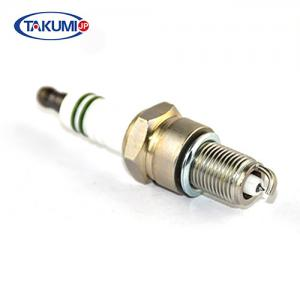 China Platinum Brush Cutter Spark Plug Nickel Plated Housing Super Insulation With OEM on sale