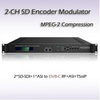 REM7204 Two-Channel SD-SDI TO DVB-C MPEG-2 SD Encoding Modulator