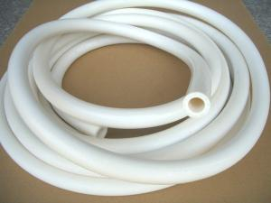 China Flexible silicone shower hose on sale