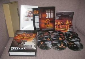 China Insanity Workout a 60 day Total Body 13 Discs Box Set Exercise Fitness DVDs on sale