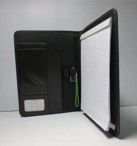 China PU cover A4 size writing pad Portfolio_China Printing Factory on sale