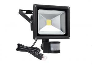 China 1000LM 10 Watt Waterproof LED Flood Lights PIR Motion Sensor / Outdoor Led Floodlight on sale