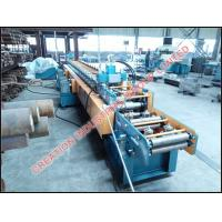 China Metal Solar Panel Supporting Frame Cold Roll Forming Machine with Cr12 Mould Steel Roll Former Equipment on sale
