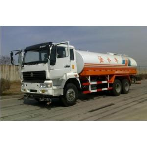 China Water Sprinkling Tank Truck Trailer SINOTRUK HOWO LHD 6X4 15-20CBM For Pesticide Spraying on sale