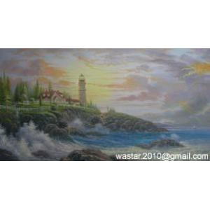 China Landscape painting - seascape oil painting on sale