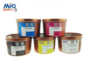 China Customized Color UV Dry Offset Printing Inks Fine And Smooth Without Misting on sale