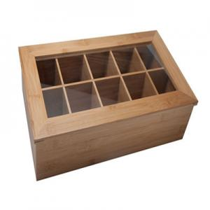 China hot selling bamboo tea bag box tin tea box with 8 component for high quality on sale