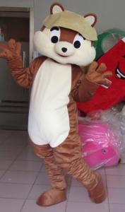 Quality High Quality Cartoon Character squirrel Mascot Costumes for Adult for sale