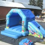 Blue Sea World Inflatable Bouncing House Frozen For Kids Party