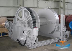 China Hydraulic Marine Electric Winch Waterfall Type Manual Emergency Operating Mode on sale